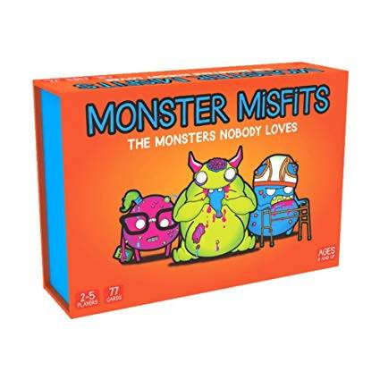 Monster Misfits Card Game - Card Games - Allink Int Pte Ltd - Naiise