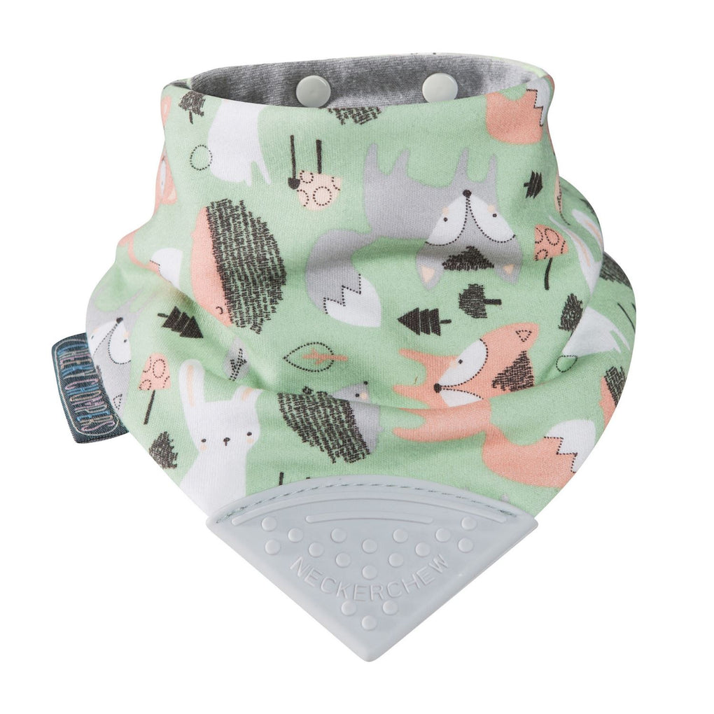 Neckerchew Fox & Friends Bibs Cheeky Chompers