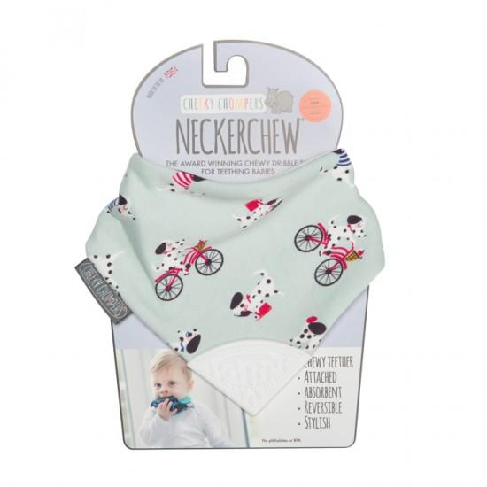 Neckerchew Parislan Pups Bibs Cheeky Chompers