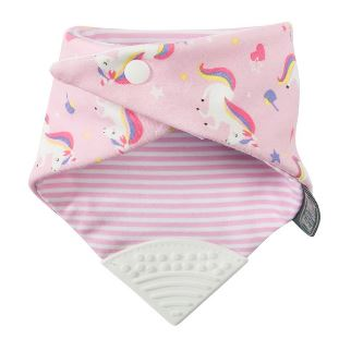 Neckerchew Unicorn Love Bibs Cheeky Chompers