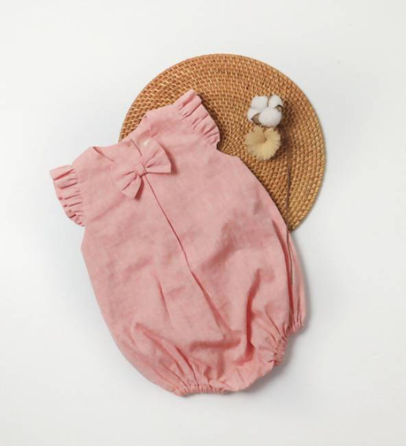 Niana Romper (linen) - Baby Clothing - Little Happy Haus - Naiise