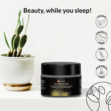 Night Indulge Cream - Face Moisturisers - Iryasa - Naiise