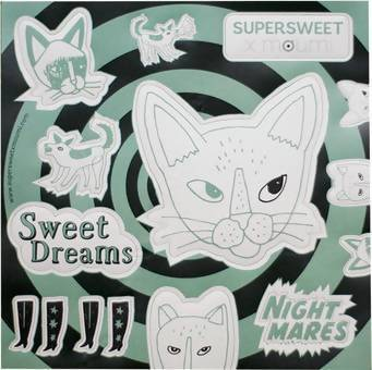 Nightmares/Sweet Dreams Sticker Stickers By Moumi
