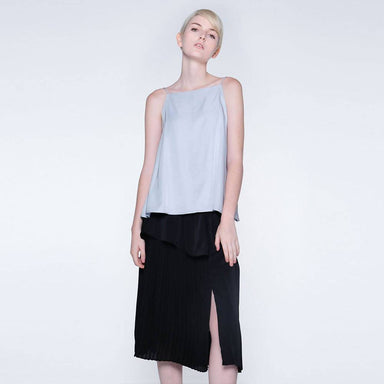 Nikko Square Neckline Cami Top in Elation Lilac - Tops - Salient Label - Naiise
