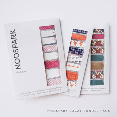 Nodspark Nail Art Sticker Nail Polish Wraps - Local Bundle - Nail Wraps - Nodspark - Naiise