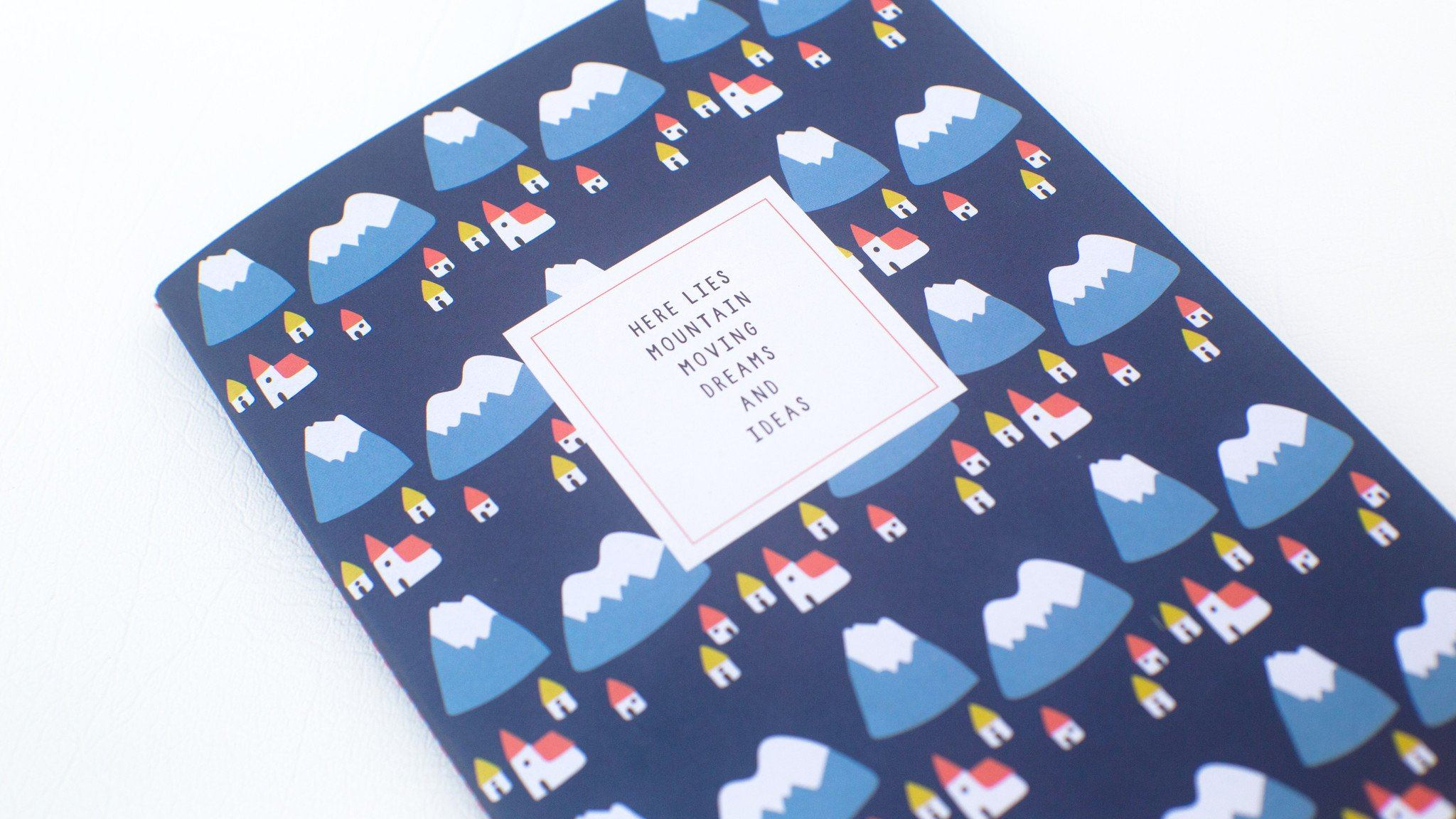 Notebook - Beyond The Mountains Notebooks xhundredfold