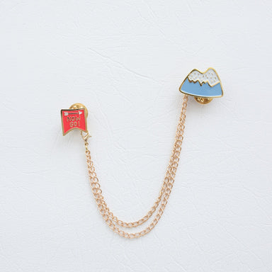 """Now Go"" Collar Brooch - Brooches - xhundredfold - Naiise"