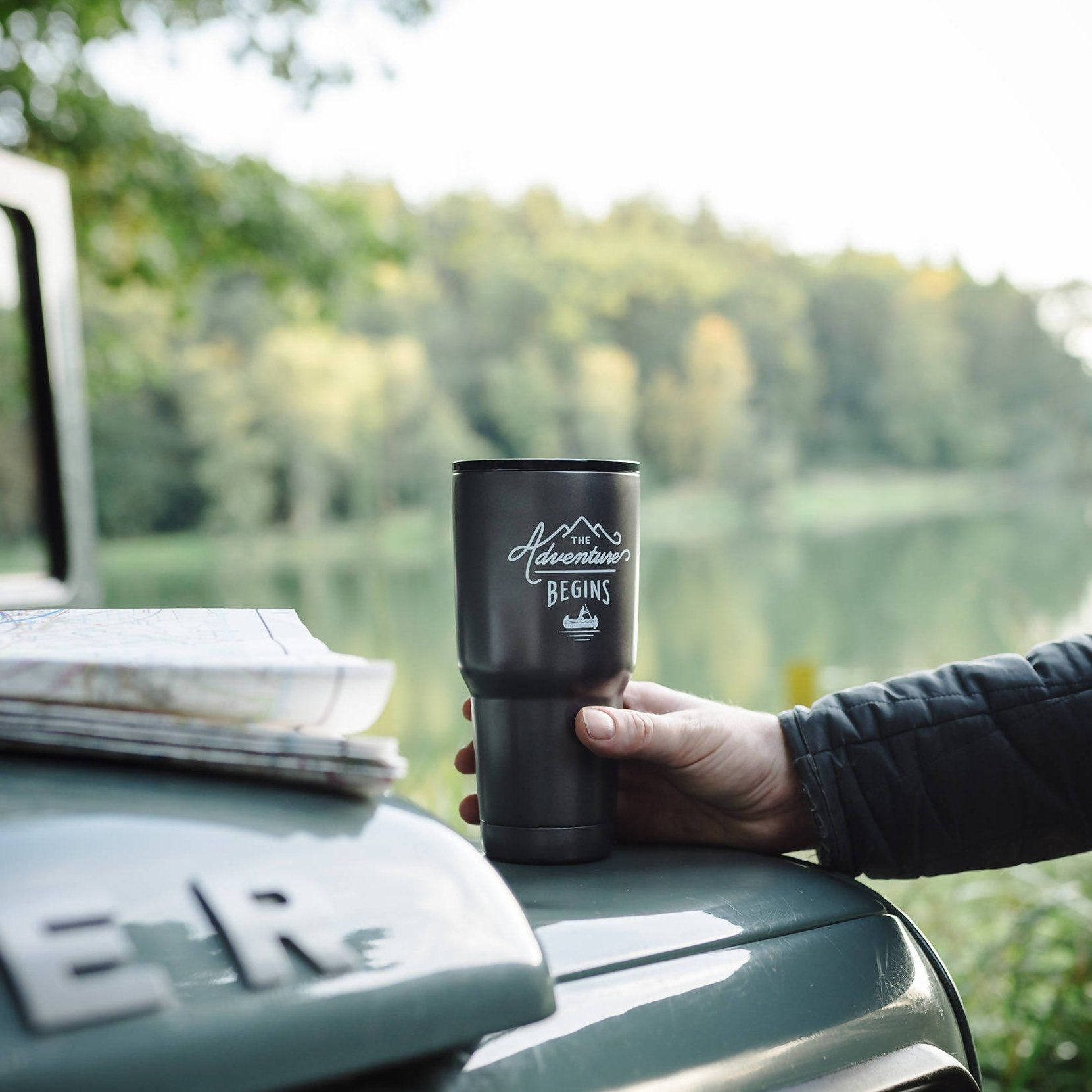 The Gentlemen's Hardware - Travel Mug - Mugs - The Planet Collection - Naiise