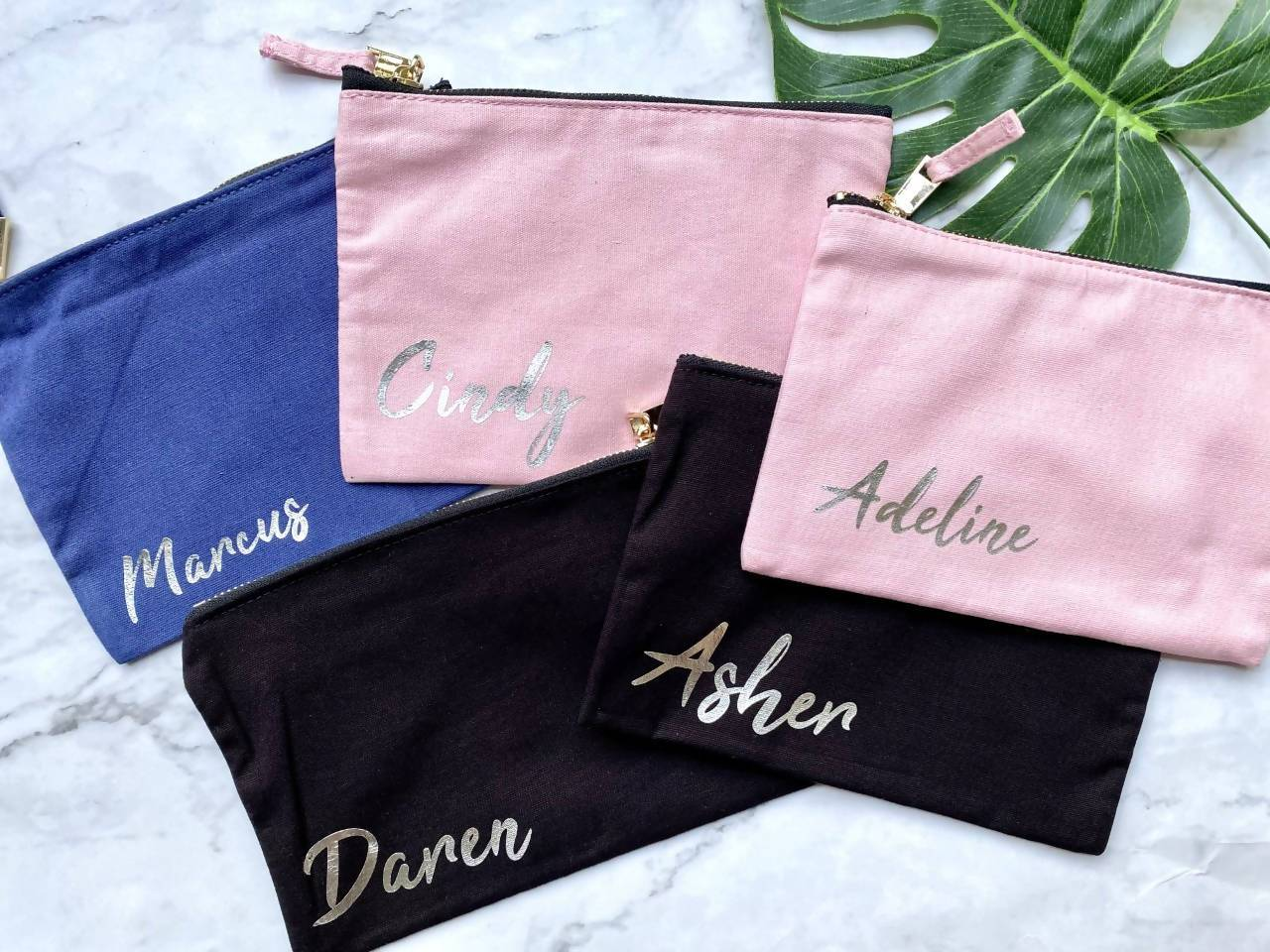 Personalised Zip Pouch - Pouches - KAYSE - Naiise