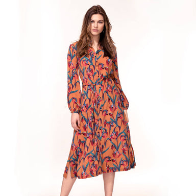Ochre Tulip Print Dress (Pre-Order) - Dresses - Hide The Label - Naiise