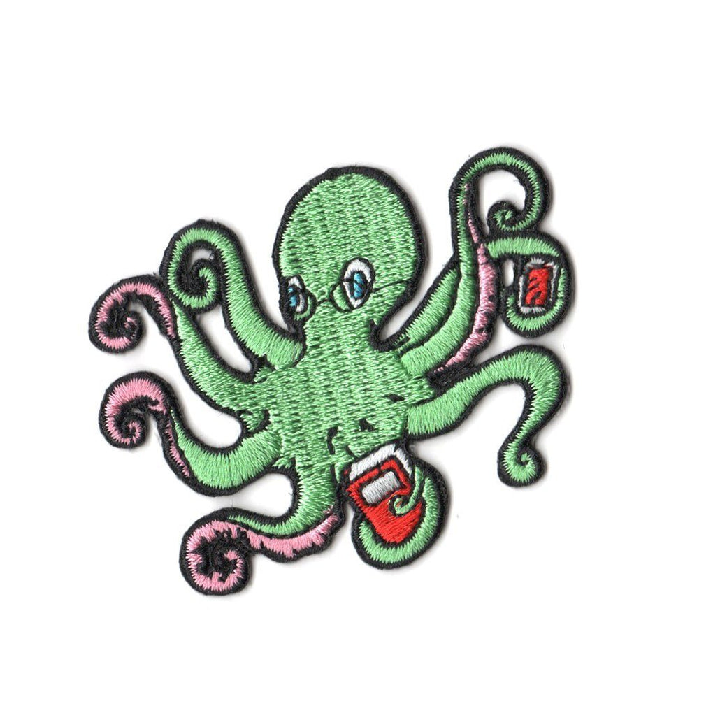 Octopus Patch Iron On Patches Pew Pew Patches
