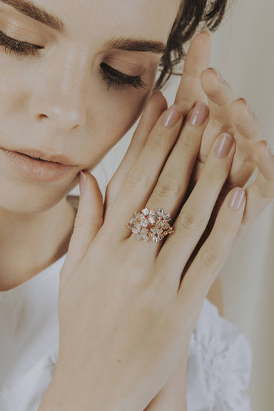 Pink Bouquet Ring - Rings - Salalo Amot - Naiise