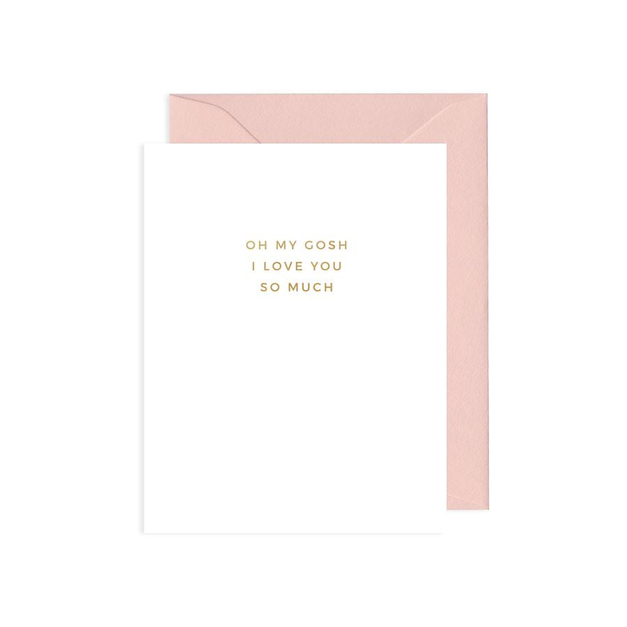 OMG I Love You Card - Love Cards - Mint & Ordinary - Naiise