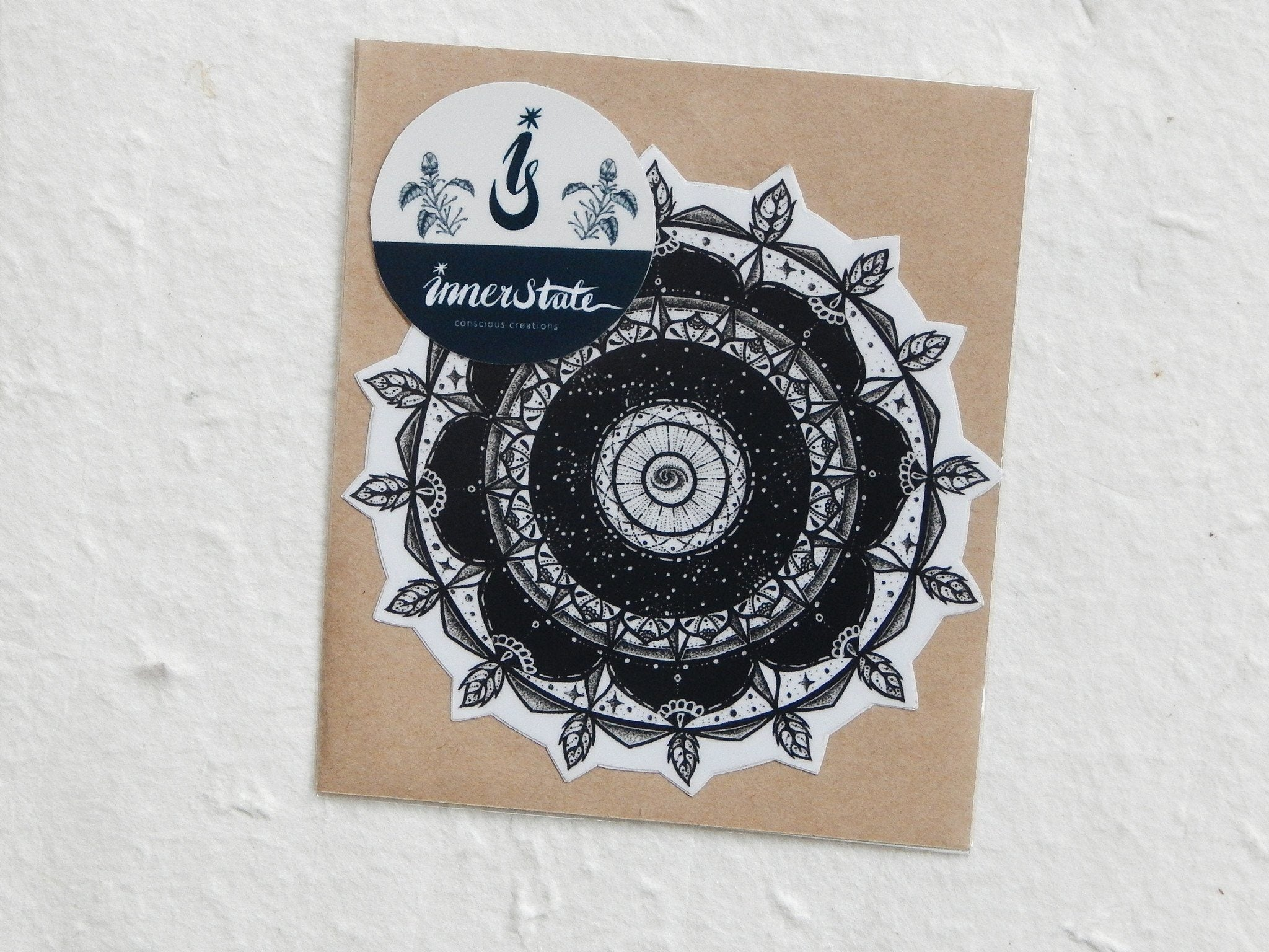 One Piece Vinyl Sticker: Mandala - Stickers - Inner State - Naiise