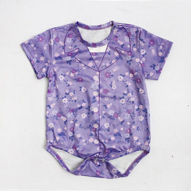 Onesie - Ah Ma Floral Local Baby Clothing Meykrs