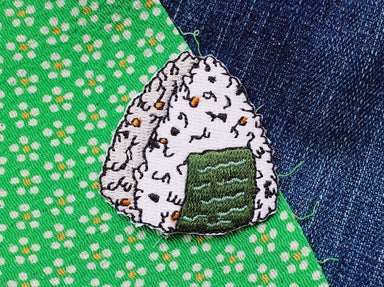 Onigiri Sticker Patch - Sticker Patches - Pew Pew Patches - Naiise