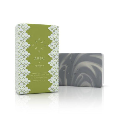Onsen Body Bar (Charcoal and Hinoki Oil) - Soaps - APSU - Naiise