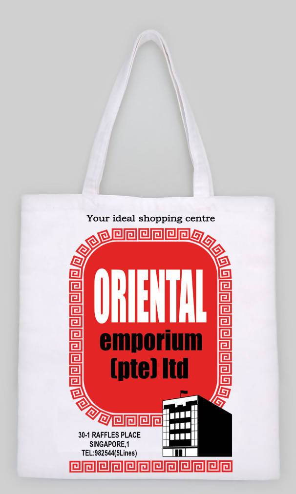 Oriental Emporium Tote Bag - Local Tote Bags - Big Red Chilli - Naiise