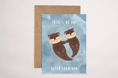 Otter Than You Card Love Cards YOUNIVERSE DESIGN