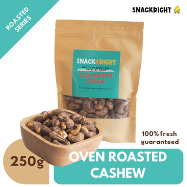 Oven Roasted Cashew Local Snacks SnackRight