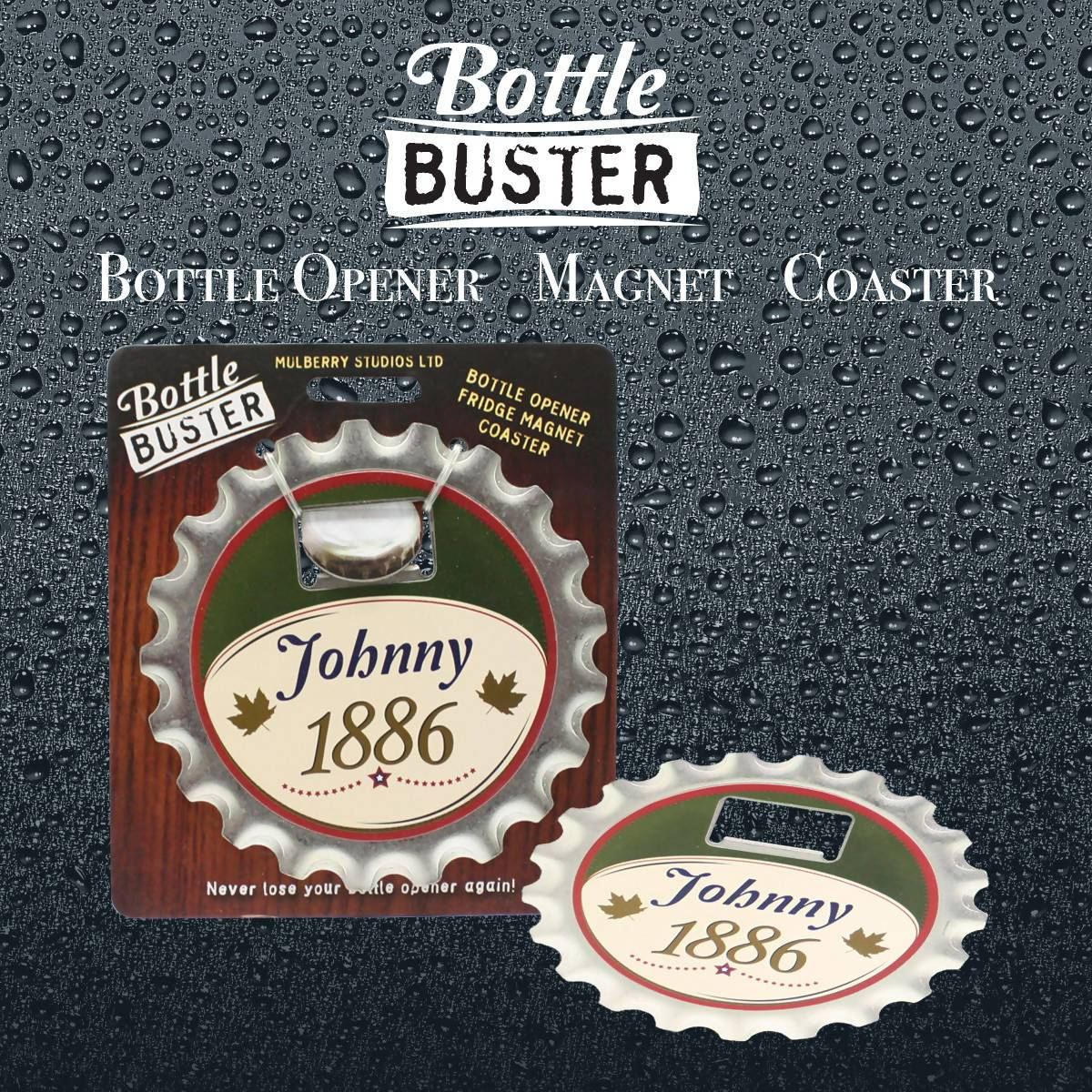 BOTTLE BUSTER - Best Bottle Opener : Johnny - Bottle Openers - La Belle Collection - Naiise