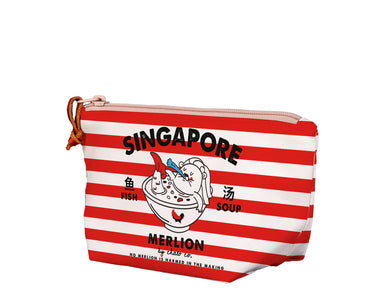 SG Merlion Soup Medium Pouch Local Pouches Chalo