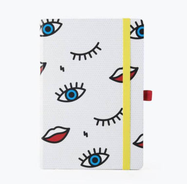 Mustard - Wink Notebook - Notebooks - The Planet Collection - Naiise
