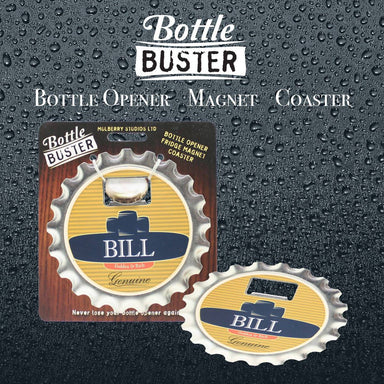 BOTTLE BUSTER - Best Bottle Opener : Bill - Bottle Openers - La Belle Collection - Naiise