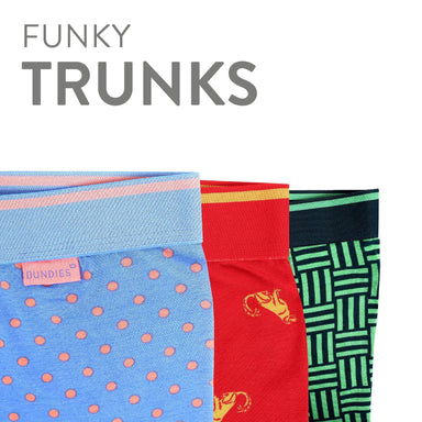 Pack of 3 Funky Trunks Underwear Bundies