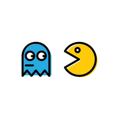 Pacman Temporary Tattoo - Temporary Tattoos - Habitatt Supply Co - Naiise