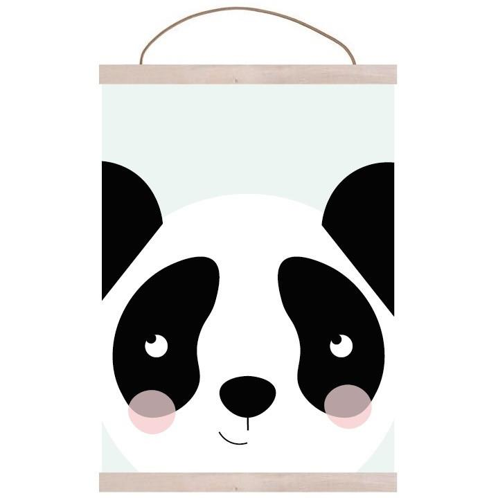 Panda Print Kids Prints Munks + Me