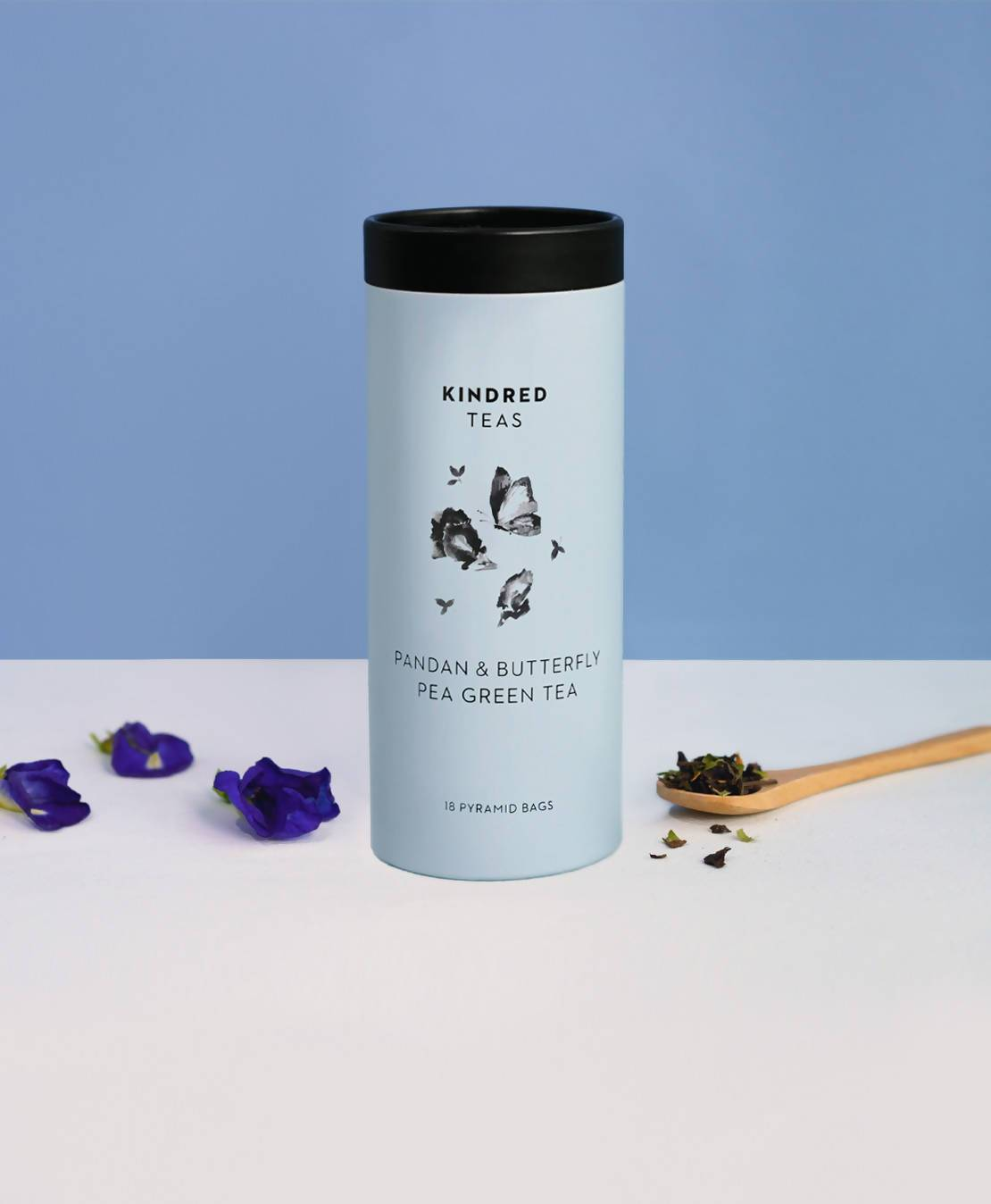 Pandan & Butterfly Pea Green Tea - Local Tea - Kindred Teas - Naiise