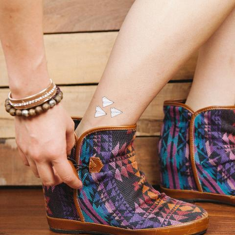 Paper Plane Doodle Temporary Tattoo - Temporary Tattoos - Habitatt Supply Co - Naiise