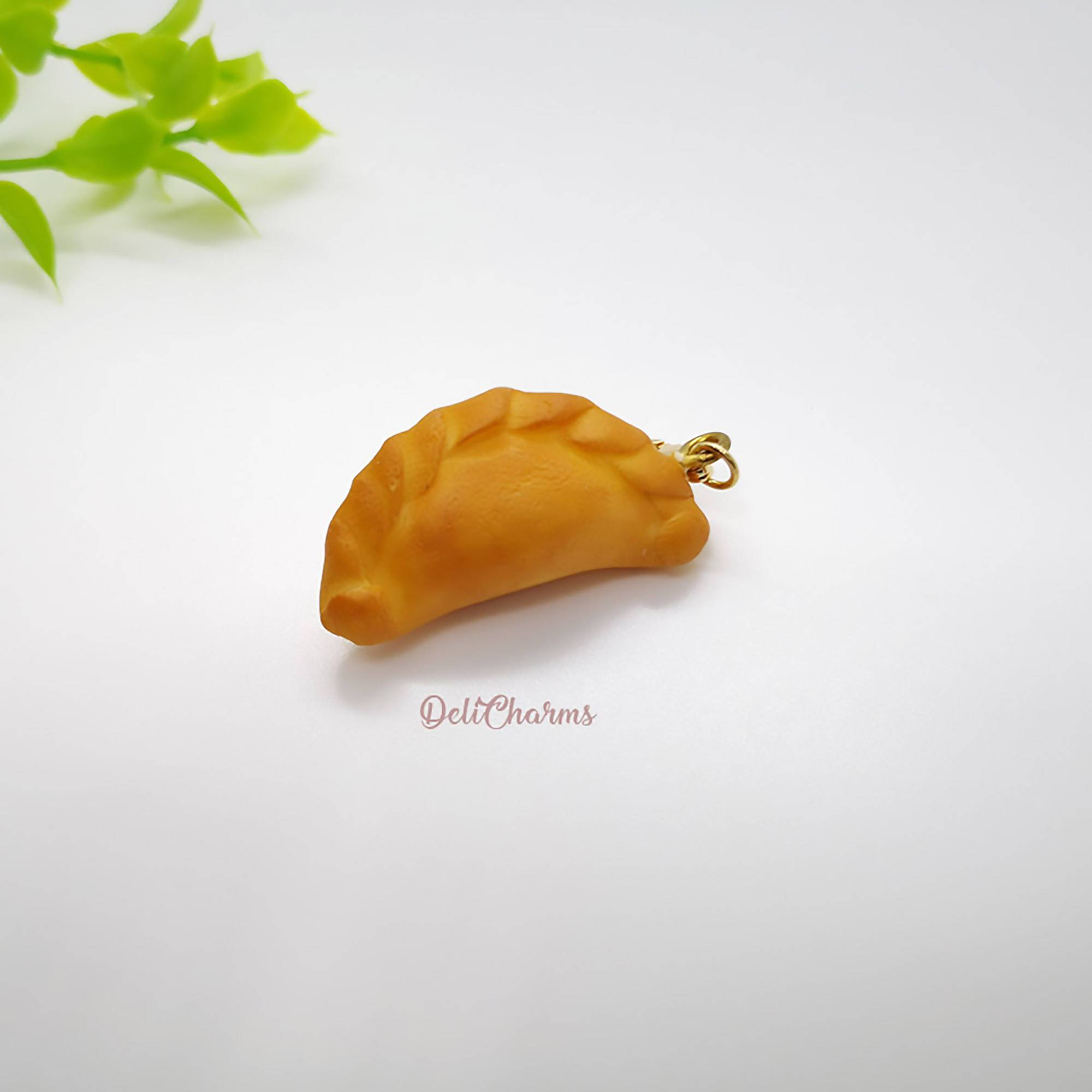 Miniature Curry Puff Charm - Charms - Deli Charms - Naiise