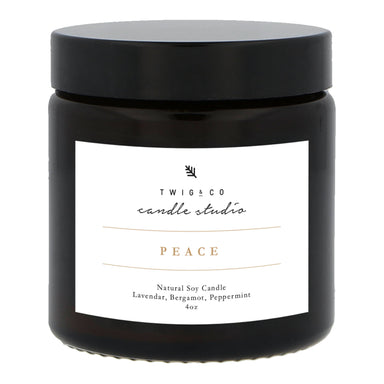 Peace Candle Scented Candles Twig & Co