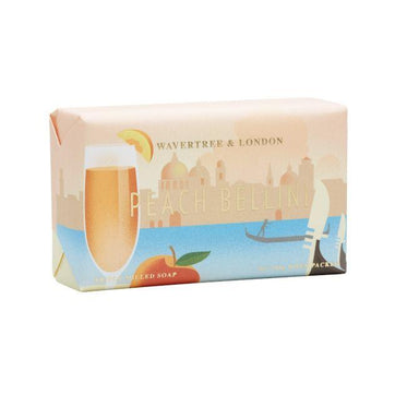 Peach Bellini Soap Bar Soaps Wavertree & London