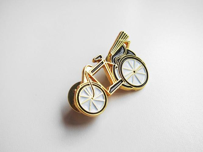 Pedal Powered Trishaws Collar Pin Local Pins LOVE SG