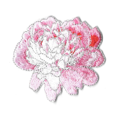 Peony Iron On - Iron On Patches - Pew Pew Patches - Naiise