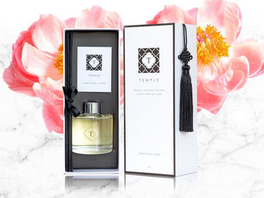 Peony Petal & Fern Diffuser - Diffusers - Temple Candles - Naiise