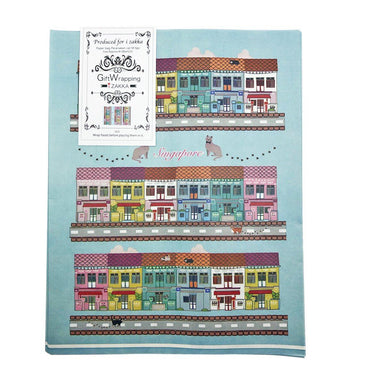 Peranakan Cat Paper Gift Bag (Set of 6) Gift Bags i-Zakka