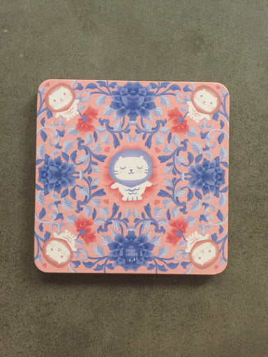 Peranakan Wooden Coaster - Bliss - Local Coasters - The Forest Factory - Naiise