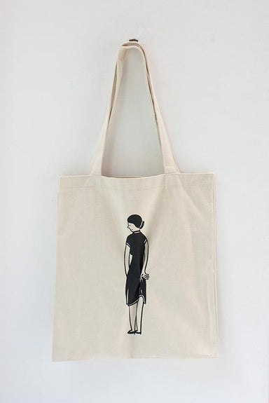 Perpetual Wedgie Tote Bag - Tote Bags - The Fingersmith Letterpress - Naiise