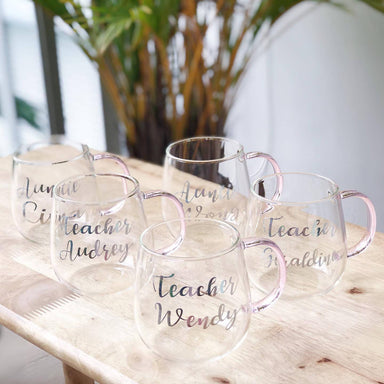 Personalised Heat Resistant Glass Mug - Personalised Mugs - KAYSE - Naiise