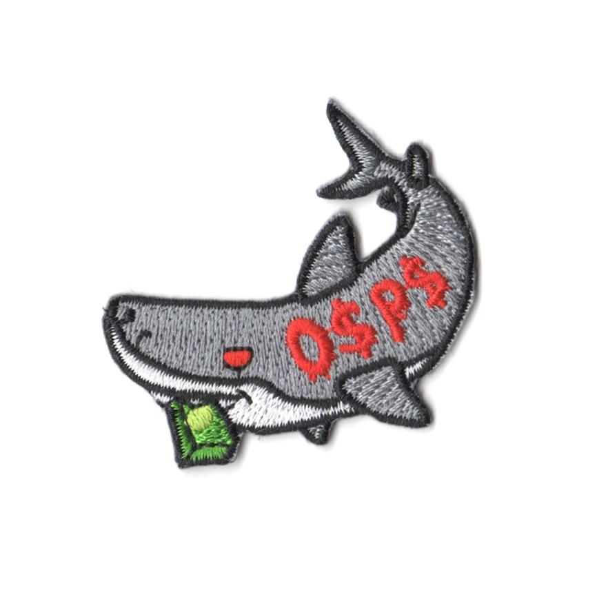 Pew Pew x Tobyato: Loan Shark Patch Iron On Patches Pew Pew Patches