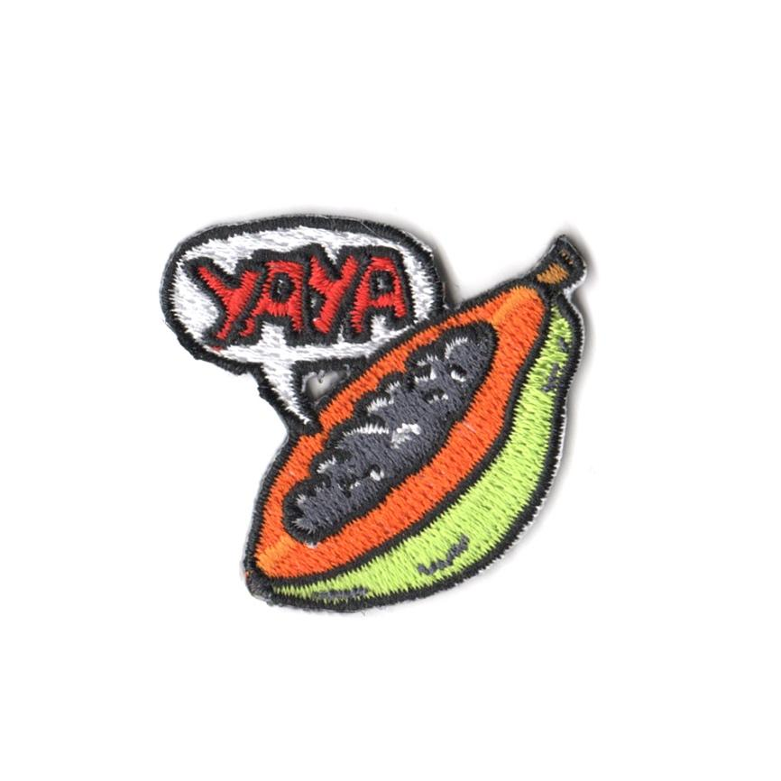 Pew Pew x Tobyato: Yaya Payaya Patch Iron On Patches Pew Pew Patches