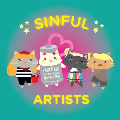 Picatsso - 6 pcs Sticker Pack Stickers Sinful Cuties