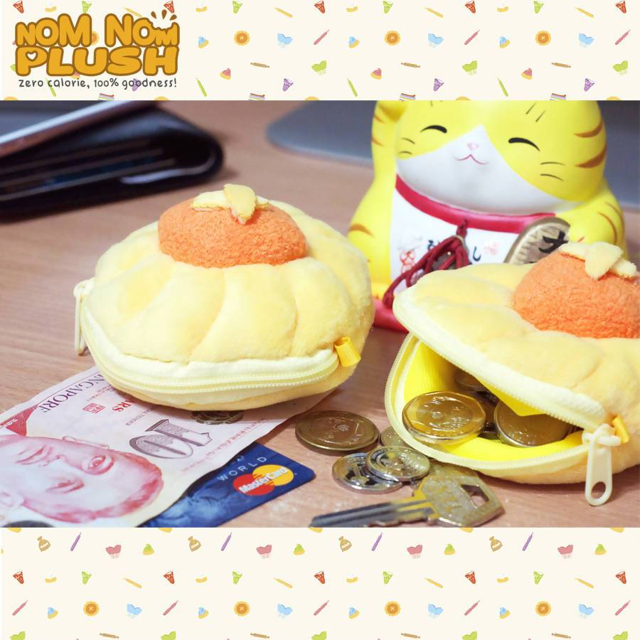 Pineapple Tart Pouch Local Coin Pouches Nom Nom Plush