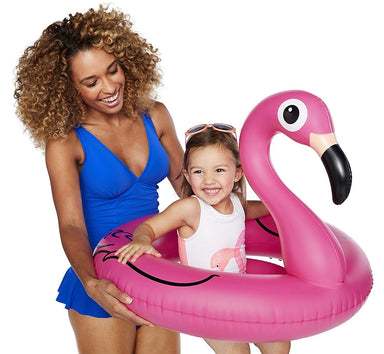 Pink Flamingo Kids Pool Float Floats BigMouth Inc