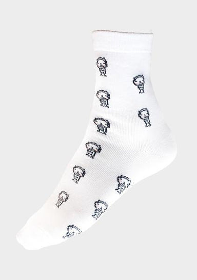 Pixilated Merlion Socks - Socks - Salient Label - Naiise
