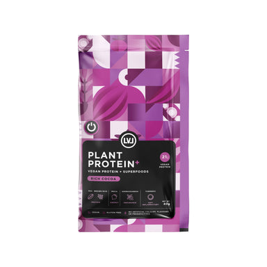 Plant Protein – Vegan Protein + Superfoods (5 sachets) Health Food LVL